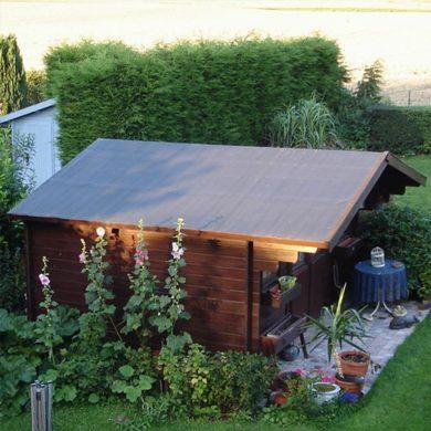 Lapostető szigetelés kerti faház tetőszigetelés EPDM gumilemezzel