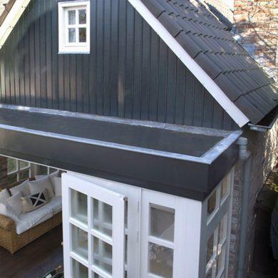 LApostető szigetelés EPDM gumilemezzel veranda